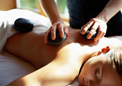 massage therapy, hot stone massage