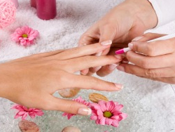 nail treatments, manicure