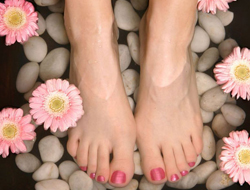 nail treatments, pedicure