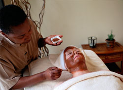 facial, customized massage